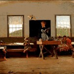 "Winslow Homer's ""Country School, 1871"""